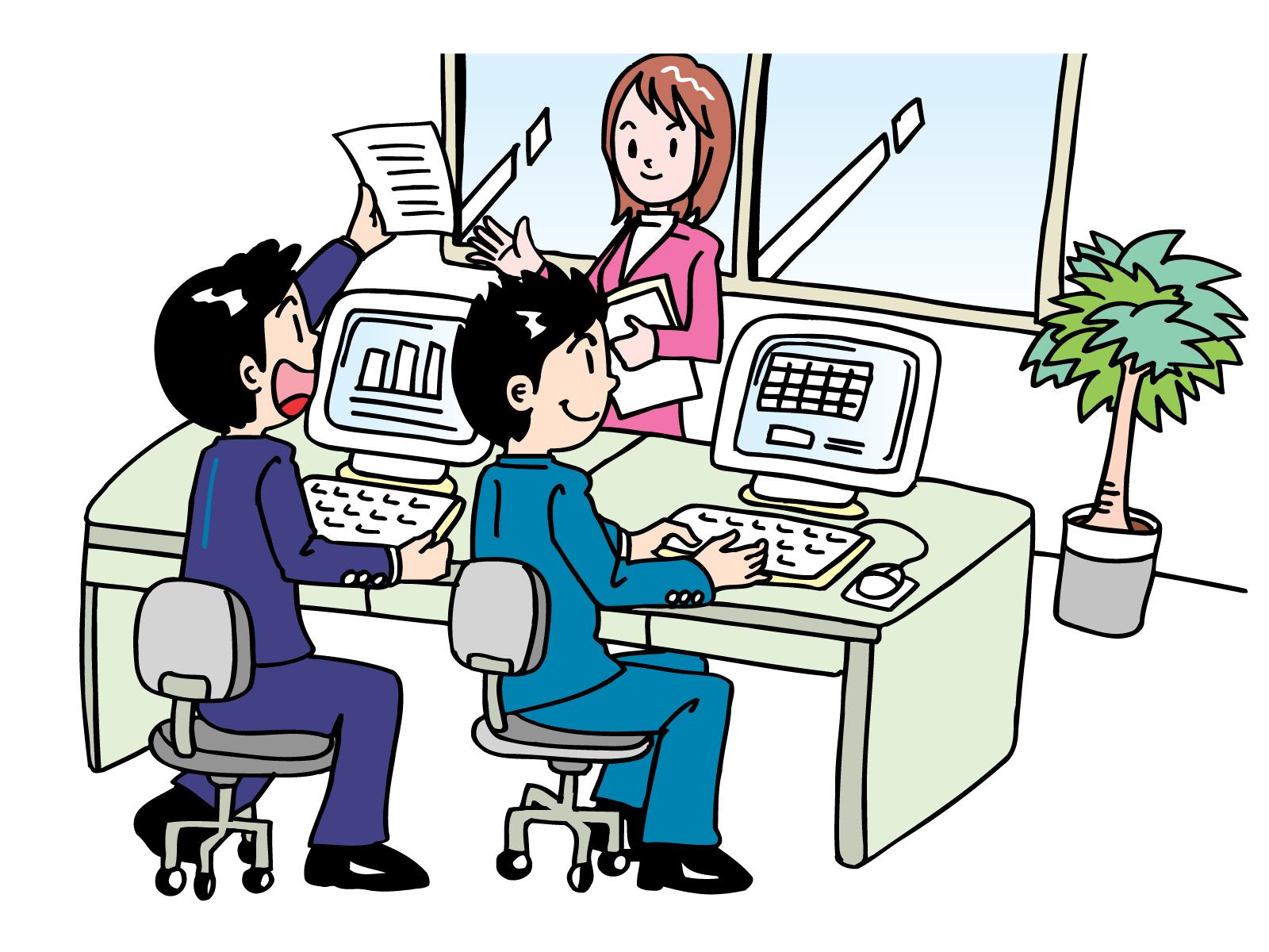 業務の改善策を模索しながらシステム開発