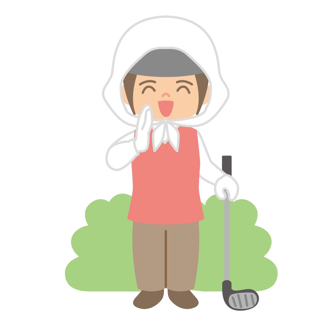 ゴルフ場キャディさんの募集